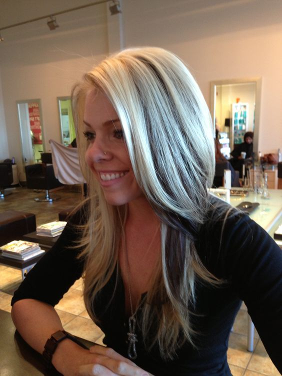 Image Result For Platinum Blonde Hair With Dark Lowlights
