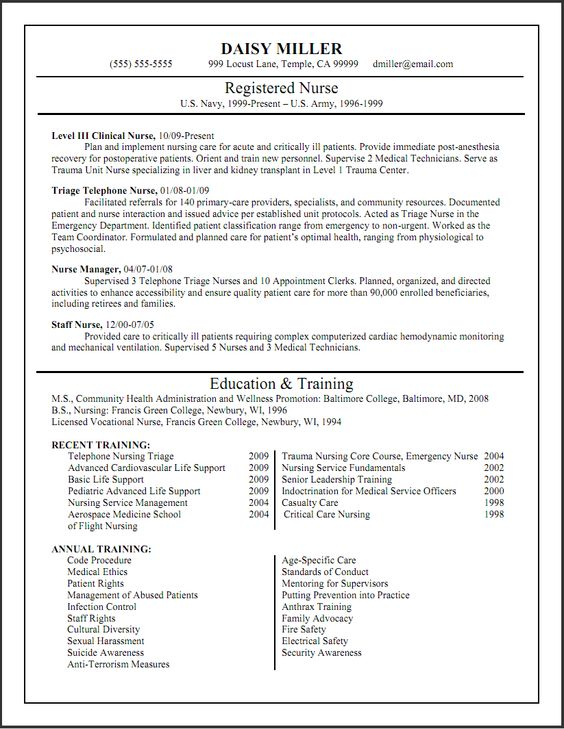 awesome Exciting Billing Specialist Resume That Brings the Job to - recovery nurse sample resume