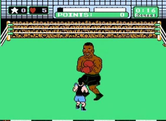 """Mike Tyson's Punch Out (1987) - NES - """"Iron"""" Mike Tyson 