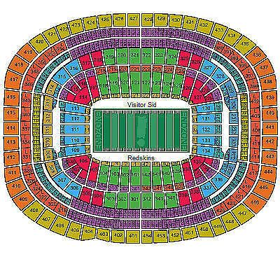 seasons fedex field and redskins tickets on pinterest : fedex field diagram - findchart.co