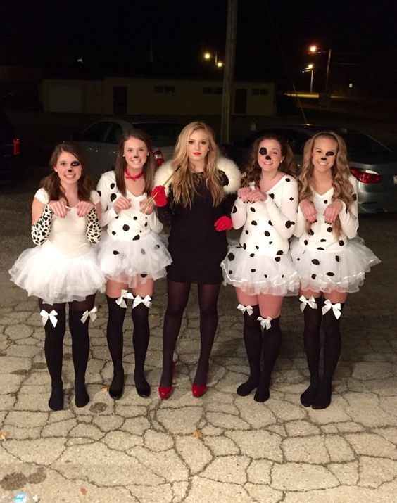 101 dalmations #group #halloween #costume