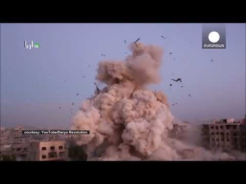 Rocket Barrage Missile Strike Compilation Youtube Military
