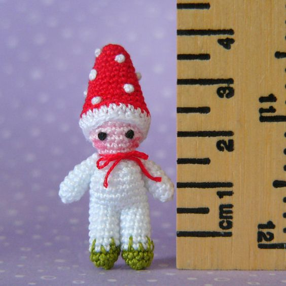 Amigurumi Supplies : Pdf pattern amigurumi crochet tutorial miniature