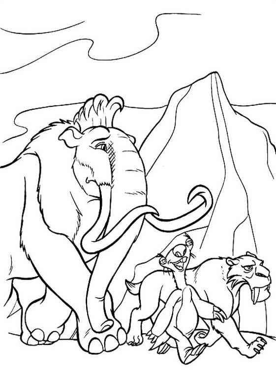 Ausmalbilder Ice Age Coloring Pages Disney Coloring Pages Coloring Books