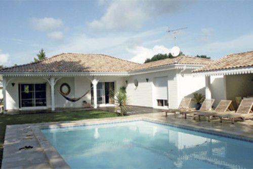 dcouvrez les plans de cette bungalow de luxe sur wwwconstruiresamaisoncom maison de plain pied pinterest bungalows and villas - Maison Luxe Plain Pied