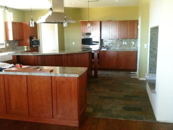 kitchen cabinets and flooring combinations | PLEASE Post Pics Of ...