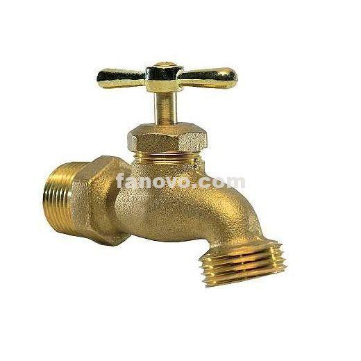 Fan M71 1 2 Male Npt Solder X Garden Hose Thread Brass Hose Bibb Male Fanovo Industries Brass Hose Bibb