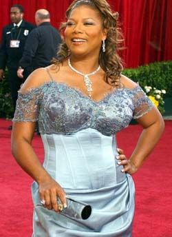 Queen Latifah- because I love her and that dress is to die for.