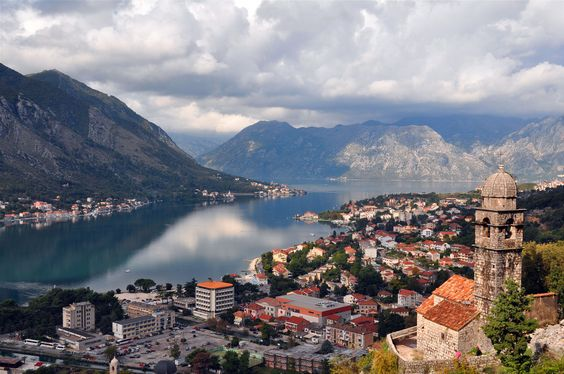 Kotor from halfway up to St. John's Fort