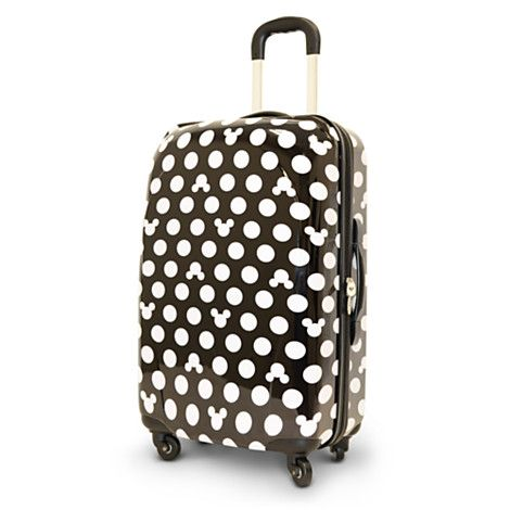 Mickey Mouse Icon Rolling Luggage - 26'' | Accessories | Women | Not CYO | Disney Store