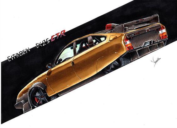 Citroen CX 25 GTR by vsdesign69 on DeviantArt