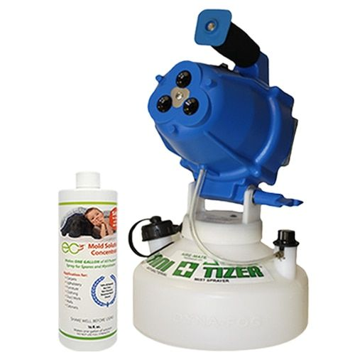 Ec3 Sanitizer Fogger And Mold Solution Concentrate Bundle Molding Mold Exposure Solutions