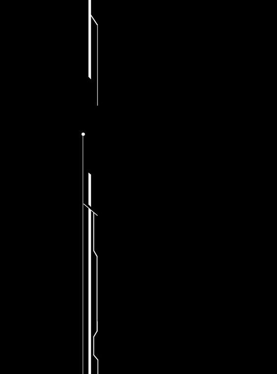 White Line Border Desain