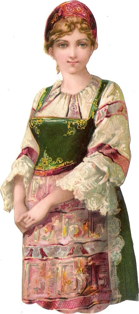 Oblaten Glanzbild scrap die cut chromo Kind  17cm child Dame lady girl Mädchen: