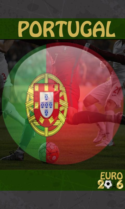 Portugal wallpaper for Euro 2016: