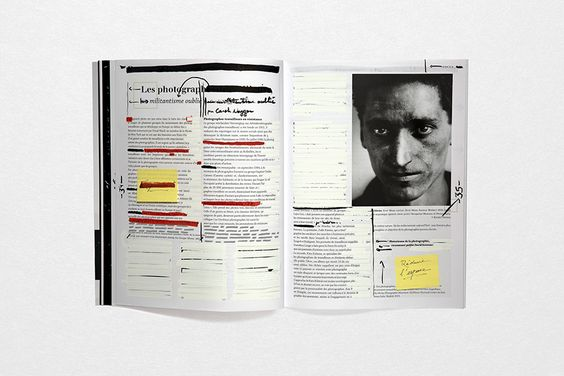 alexiszacchi.fr — EDITED BY • A newspaper that calls on Art Directors to re-design a publication in which they see potential. — © Lana Choukroune, Alexis Zacchi & Zuer Chen