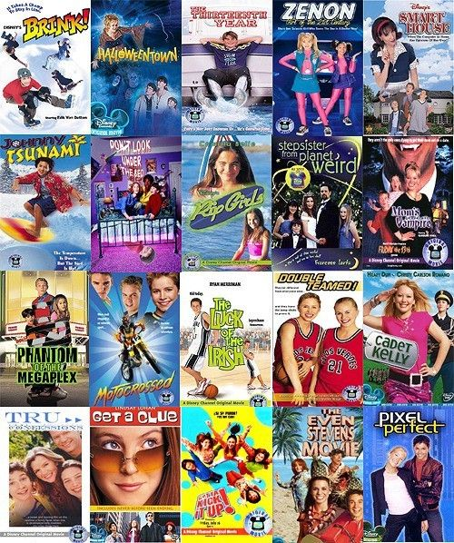 disney channel original movies.---is it sad I've seen every single one of these?:)