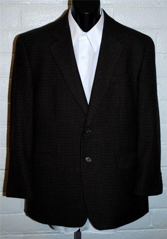 Ralph Lauren Mens Sport Coat 40 Short Wool Single Vent 2 Button #RalphLauren #TwoButton
