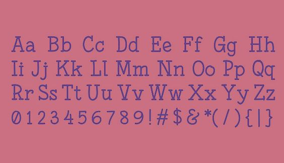 Fonesia Font Letters #freefonts #fontsfordesigners #freefonts2015 #freetypeface #commecialfonts