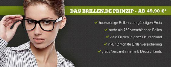 brillen.de – der Onlineshop für günstige Brillen und Kontaktlinsen