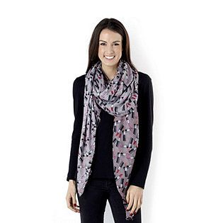 Attitudes by Renee Woven Printed Scarf