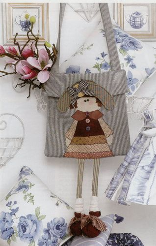 Bolsa menina - Zelda Rosa - Picasa Web Album