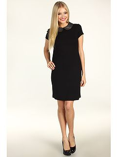 54% Off Now $59.99 Donna Morgan - Mia Short Sleeve Sheath Dress (Black/Gunmetal) - Apparel http://www.freeprintableshoppingcoupons.com
