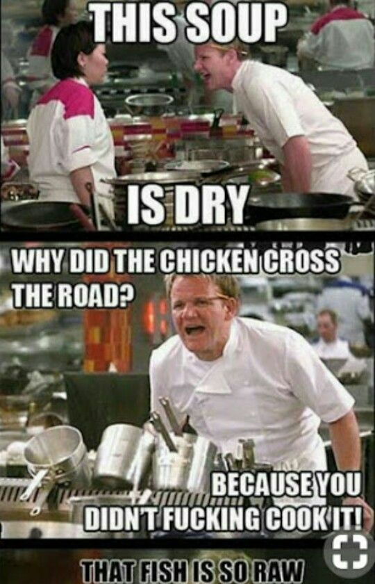 You Know You Messed Up When The Soup Is Dry