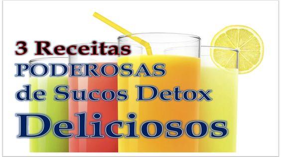 3 Receitas Poderosas de Sucos Detox Para Emagrecer  >>> Saiba muito mais sobre Dietas Detox aqui:   http://goo.gl/mFYCPN <<<