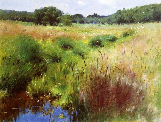 Marshland, Medfield - Dennis Miller Bunker