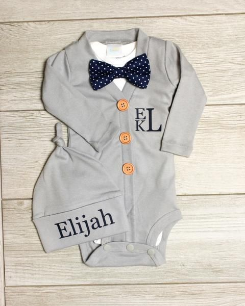 Baby Cardigan and Leggings Set Coming Home Outfit Baby Girl Clothes Personalized Newborn Girl Coming Home Outfit New Baby Girl Gift