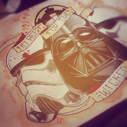 #vader #tattoo