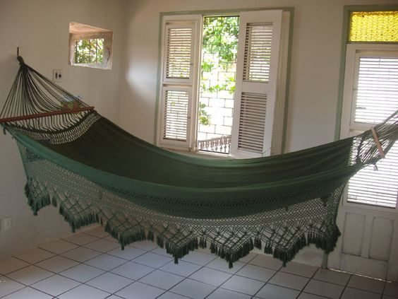 An indoor hammock is exactly what I need!