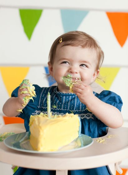 baby's first birthday! - perfect cake photo!