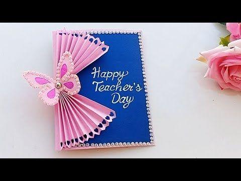 Diy Teacher S Day Card Handmade Teachers Day Card Making Idea Youtube Teacher Cards Happy Teachers Day Card Teachers Day Card