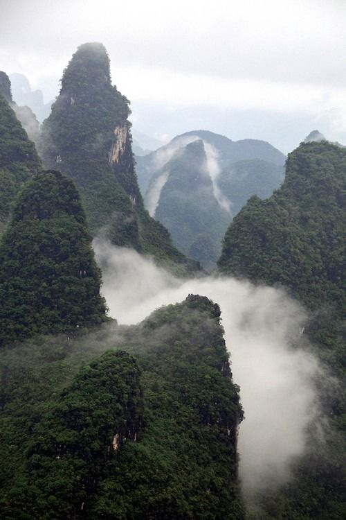 GuangXi, China by Melinda
