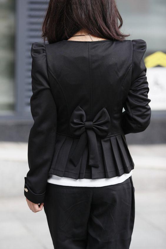 Saco Abrigo Blazer Mujer Chaqueta Negro O Cafe Envio Gratis - Hermosillo - Sonora - Ropa - Moda - Accesorios - Zapatos