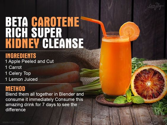 Your liver and kidneys are vital organs that help process and filter out food, medications, alcohol and other substances that enter your body. What you take into your body can pollute your liver and kidneys and make it hard for them to function properly. Carrot has an impressive list of