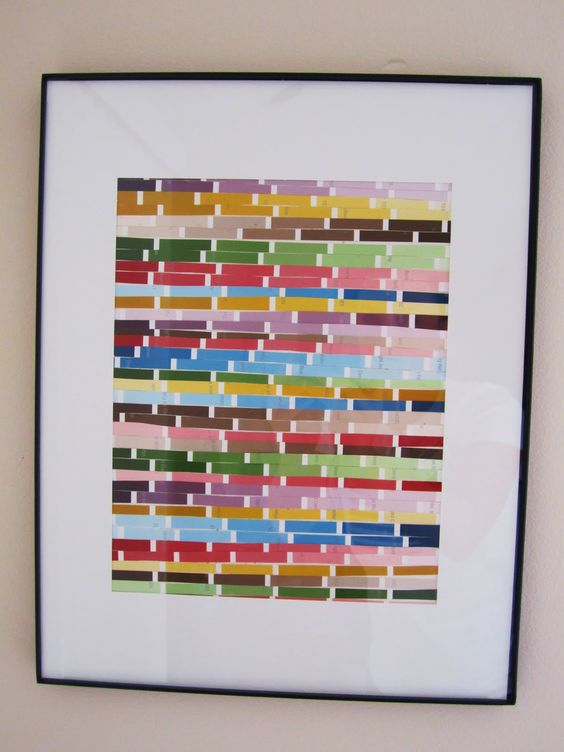 Paint swatches paint swatch art and swatch on pinterest for Black paint swatch