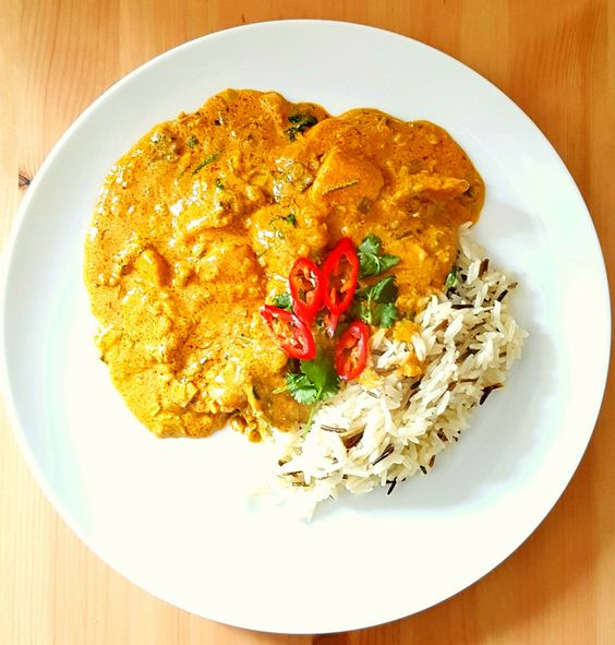 Quick homemade Chicken Korma [OC] #recipes #food #cooking #delicious #foodie #foodrecipes #cook #recipe #health