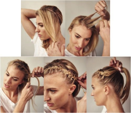 Keep Your Hair In Place On Race Day With This Cute Do Race Day Hair Running Hairstyles Hair