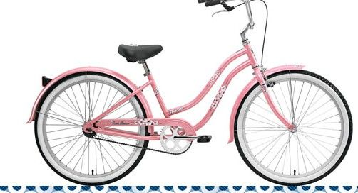 beach cruiser- bike