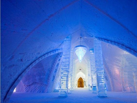 Ледяной отель де Глейс, Квебек