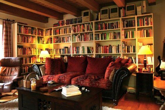 Ha könyvimádó vagy, ettől a tizenhét gyönyörű szobától be fogsz zsongani - 8. kép