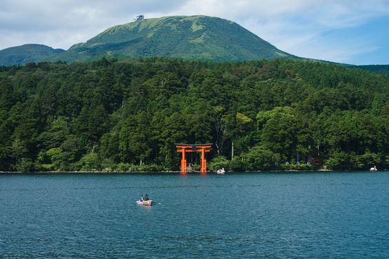 Gate of Hakone Shrine (箱根神社の鳥居) | Flickr - Photo Sharing!