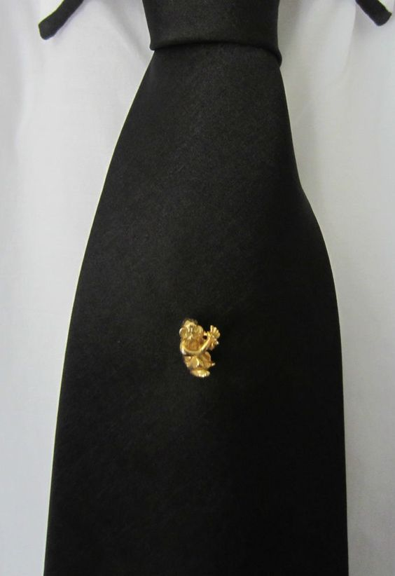 #MensAccessories Cheeky Monkey Tie Pin new in see more at #AdornAnew