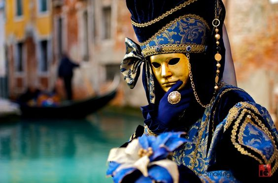 I find Venitian masks so freaky, but would love to be back in Venice for carnivale. (comment from previous pinner)