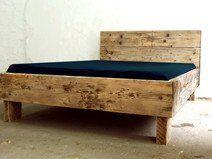 Individuelles Bett aus Bauholz! 200 x 200