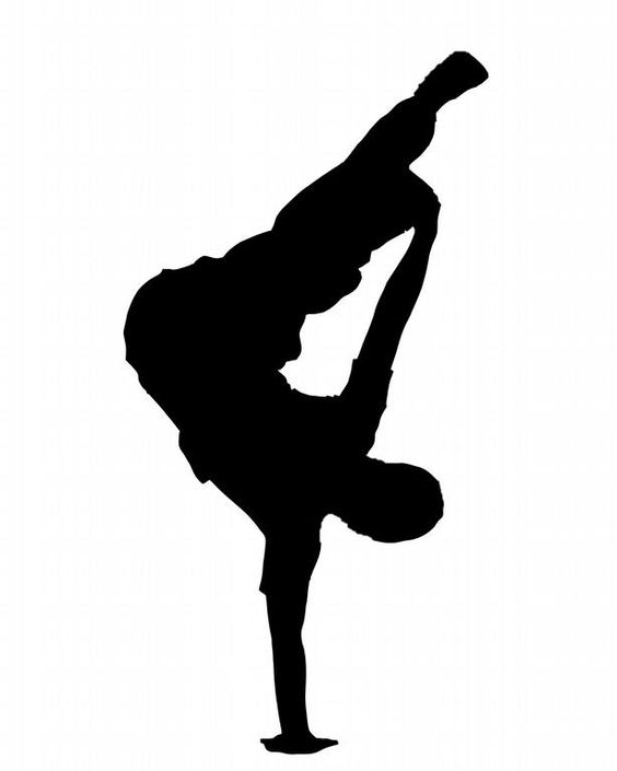 Dance art, Silhouette and Dance on Pinterest