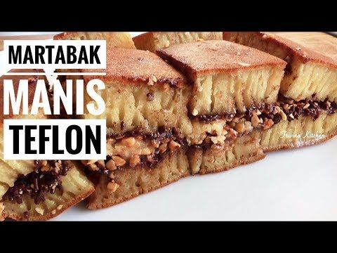 Resep Martabak Manis Terang Bulan Teflon Indonesian Thick Pancake Recipe Trivina Kitchen Youtube Resep Makanan Resep Masakan Makanan